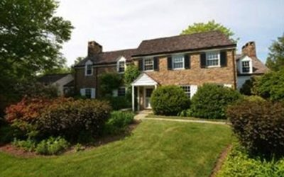 Country home at 416 Boxwood Road in Radnor.