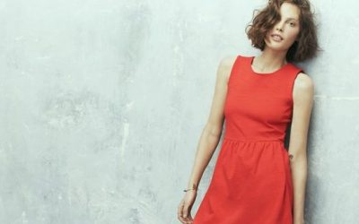 madewell red dress