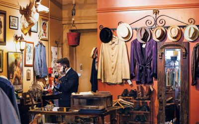 Briar Vintage, a vintage clothing store in Old City, Philadelphia