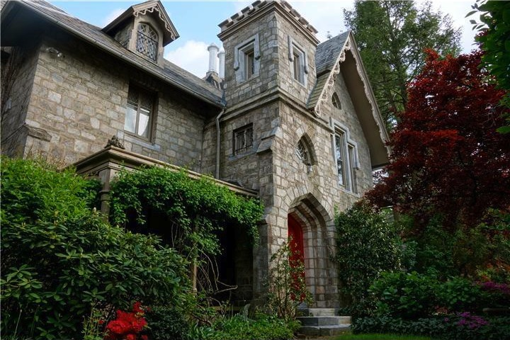 Behold The Gothic Glory In Germantowns Joseph Mitchell House