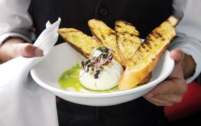 Vermont Burrata at Pennsylvania 6 in Philadelphia.