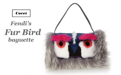 Covet: Fendi's Fur Bird Bag