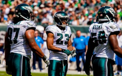 Eagles Safety Patrick Chung on field