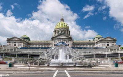 State Capitol in Harrisburg