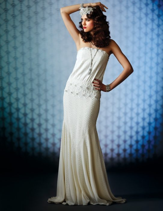 PHOTOS: Our Favorite 1920s-Inspired Gatsby-Perfect Wedding Dresses ...