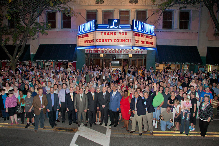 Photos New Life For Iconic Lansdowne Theater