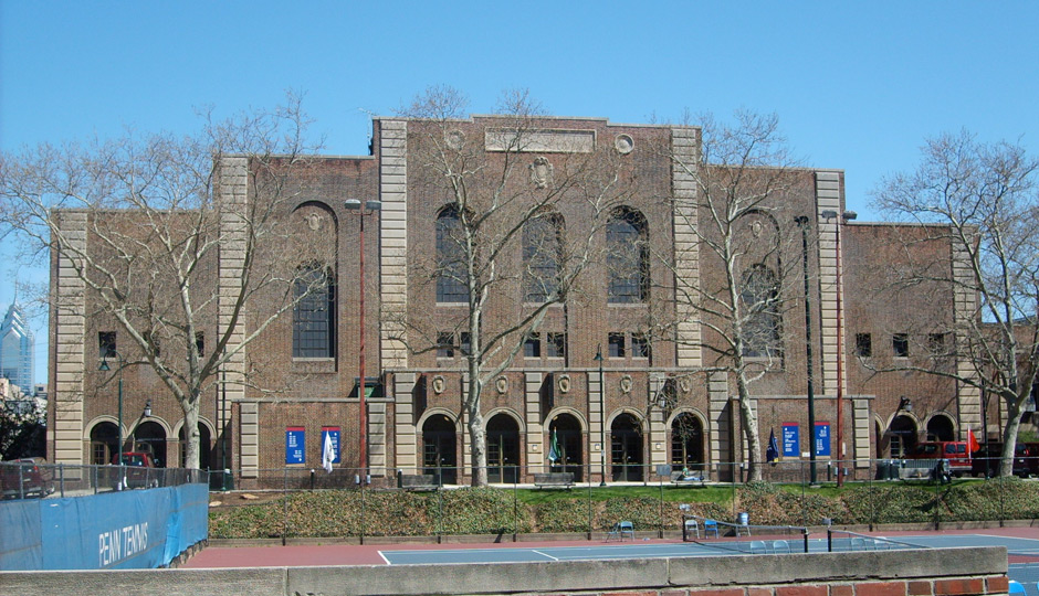 The Palestra, home to the Big 5 Hall of Fame