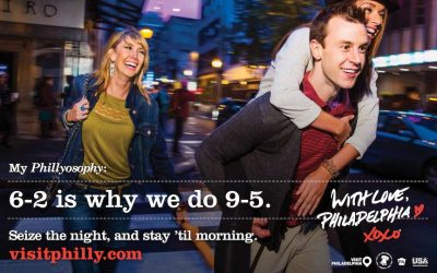 photo of phillyosophy tourism campaign