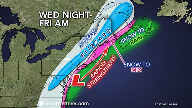 The Scariest Storm Prediction Images on Facebook