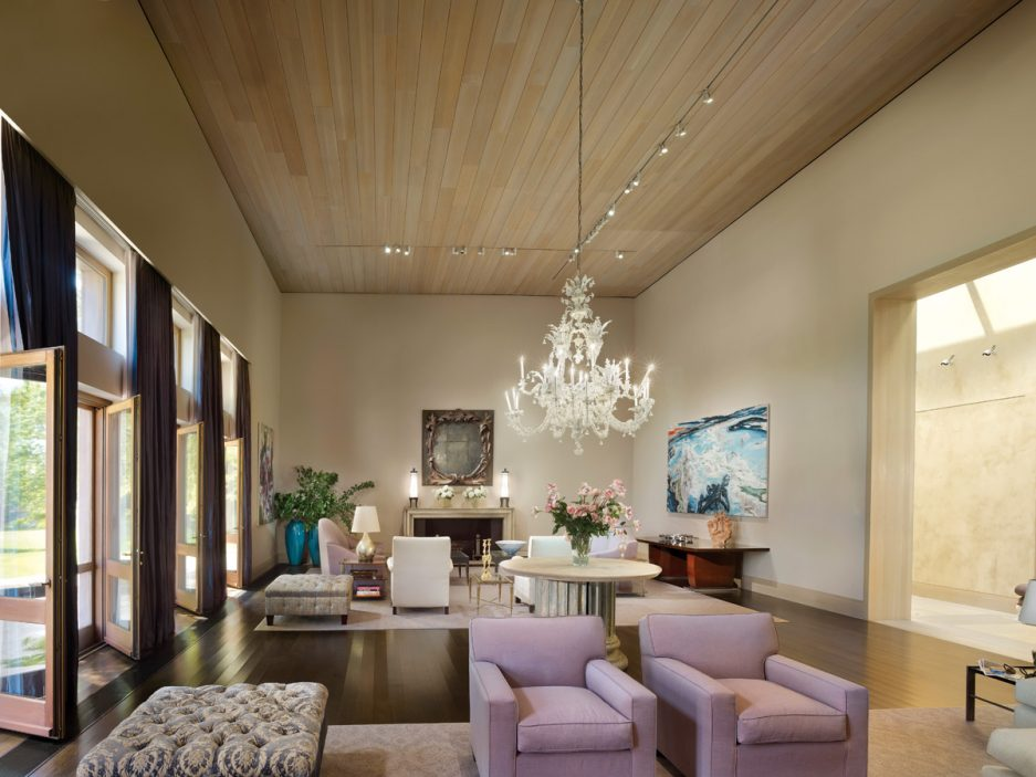 The Glamorous Parlor Designed by starchitect Rafael