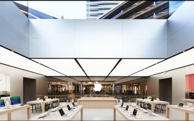 Gallery: Norman Fosteru0027s Luminous New Apple Store