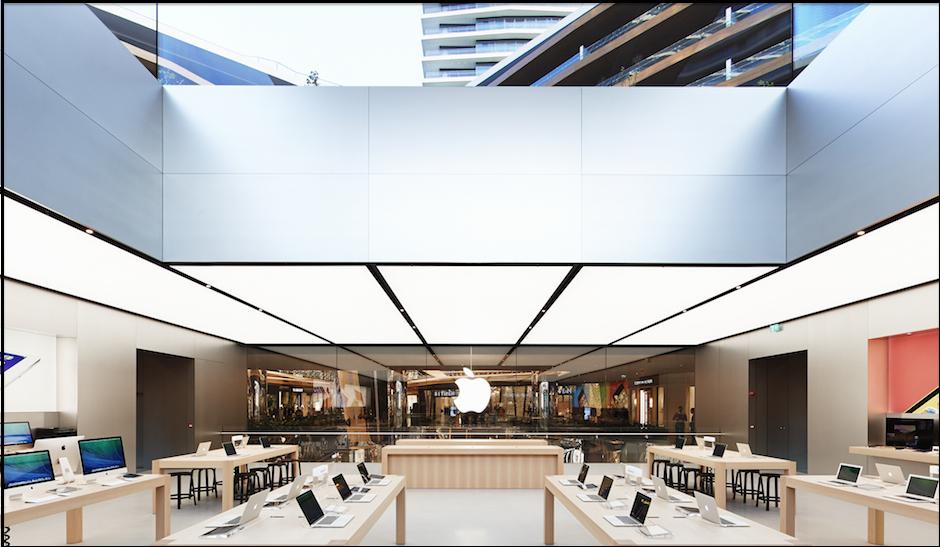 gallery  norman foster u2019s luminous new apple store