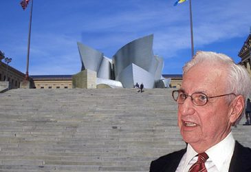 photo illustration of gehry and the art museum