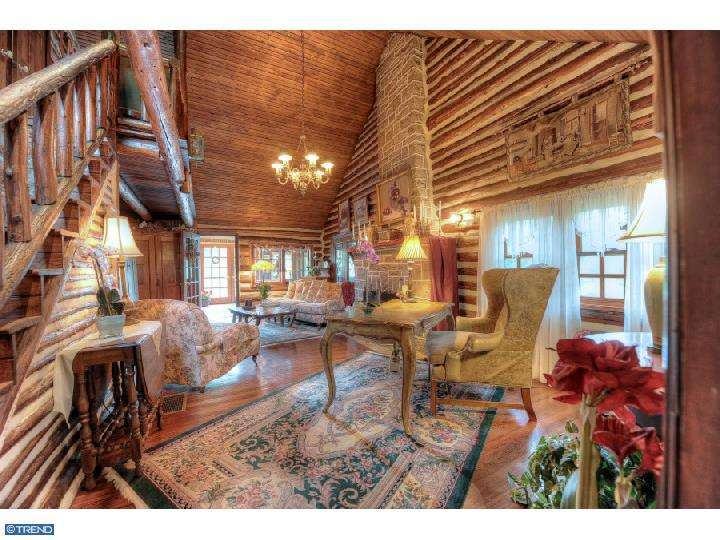 Now for Something Different: A Lakefront Log Cabin in New Jersey