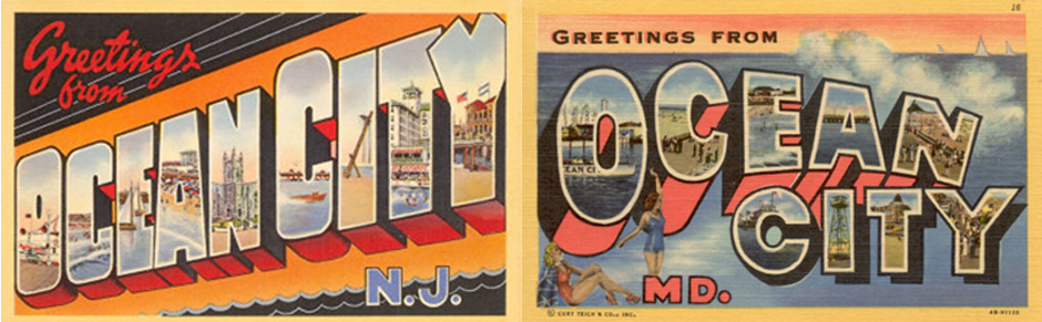 The Ocean City, N J , vs  Ocean City, Md , Headline Quiz