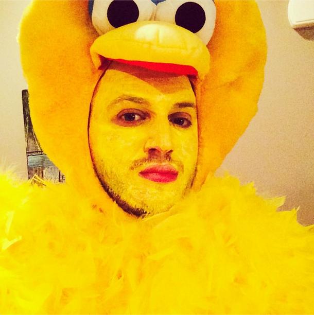 @joshschonewolf was straight up Big Bird.