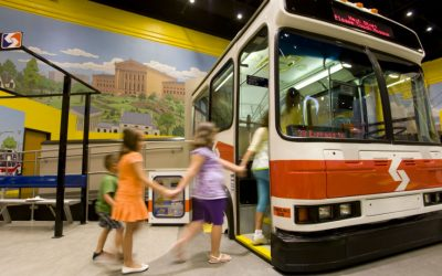 Please Touch Museum - SEPTA bus
