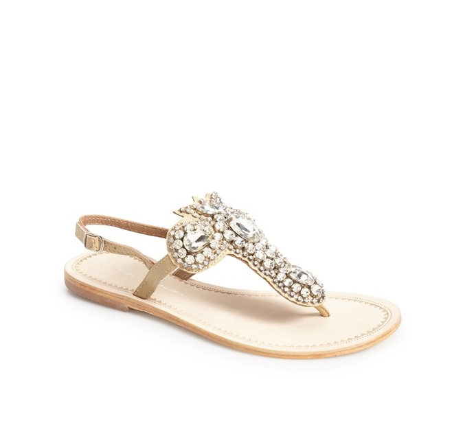 Photos 10 flat bridal sandals thatll convince you to leave your photos 10 flat bridal sandals thatll convince you to leave your heels at home junglespirit Choice Image