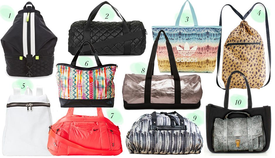 10 Most Stylish Gym Bags Thatll Motivate You To Actually Know Go The Philadelphia Magazine