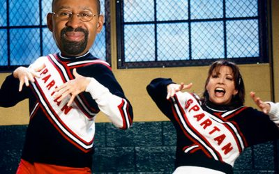 Mayor Nutter - as an SNL Cheerleader