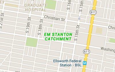 EM Stanton Catchment Google Maps