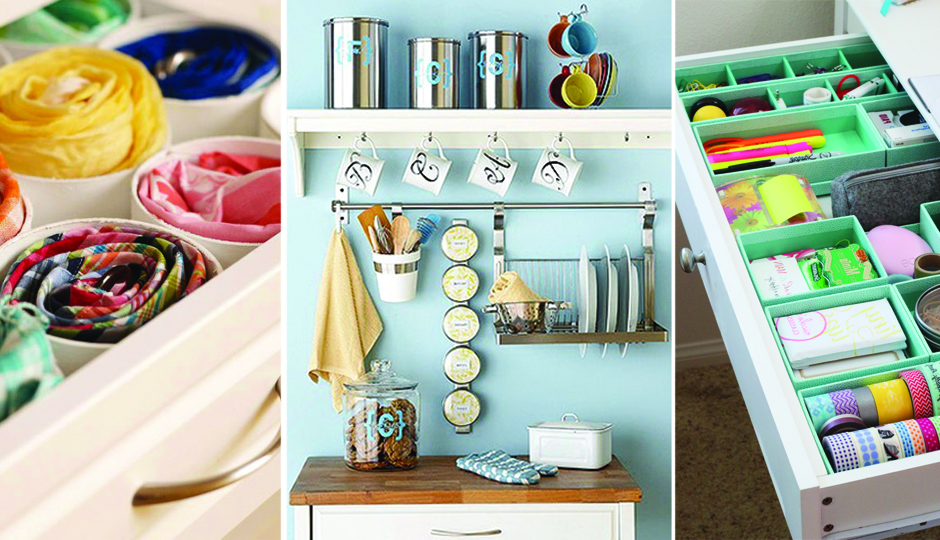 how to organize everything in your life