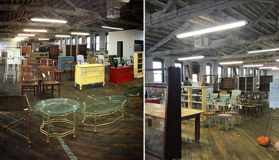 - There's A Semi-Secret Vintage Furniture Warehouse Sale Happening Today