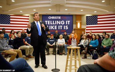 Chris Christie - campaign