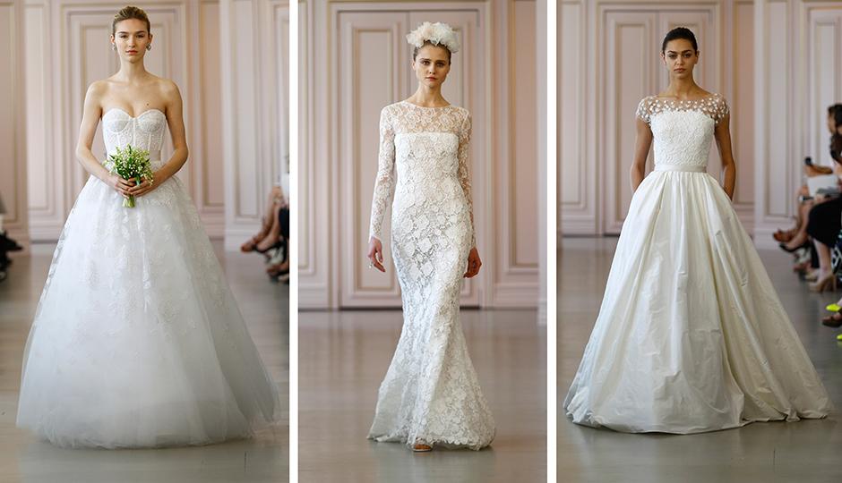 You Can Now Buy Your Oscar De La Renta Wedding Dress In
