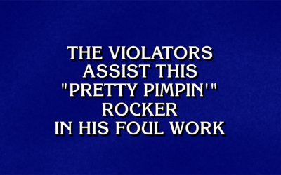 Kurt Vile - Jeopardy! clue
