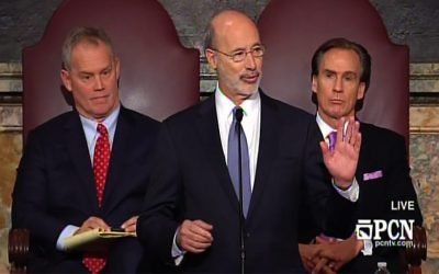 Tom Wolf, Mike Turzai, Mike Stack