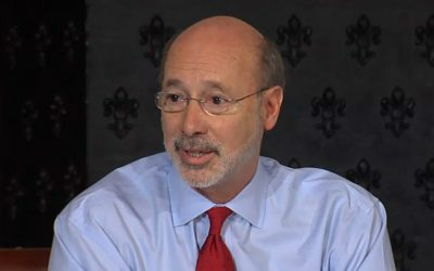 Tom Wolf - cancer diagnosis press conference