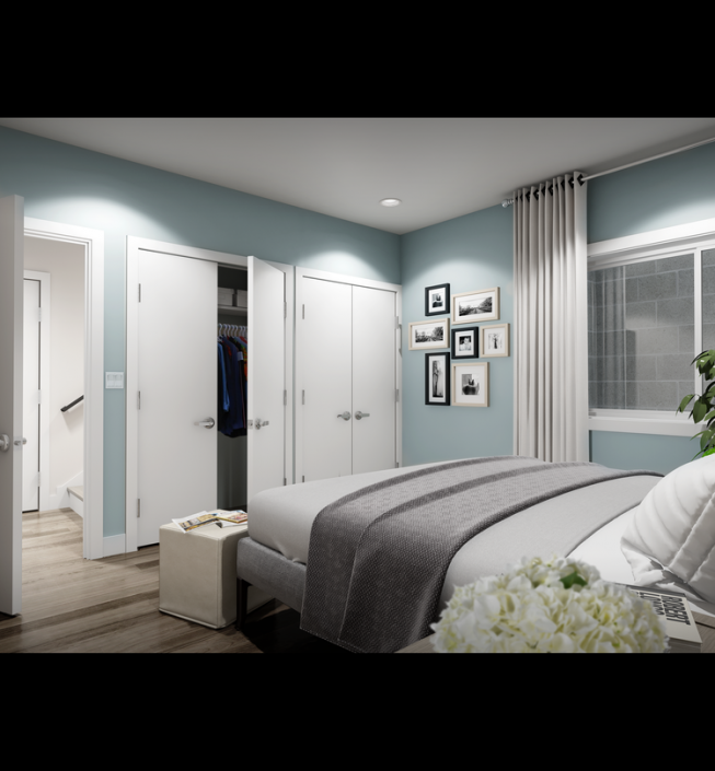 Basement Bedroom: Coming To Hawthorne: 48 New Condos