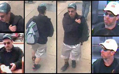Eagles hat - alleged bank robber
