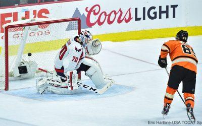 Flyers shootout goal - Sam Gagner