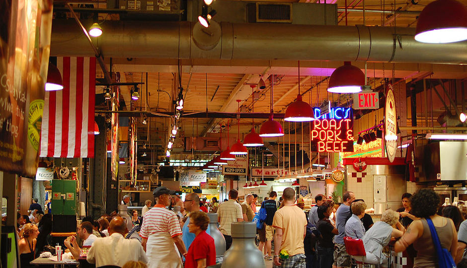 Reading Terminal Market Wine And Liquor Kiosks