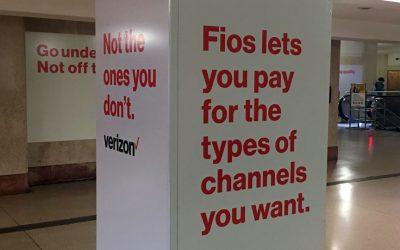 Verizon Fios - Suburban Station ad