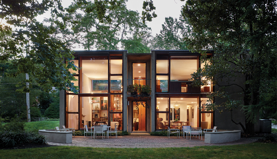 A Louis Kahn Home In Chestnut Hill Wins A National Preservation