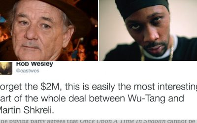 A musical based on a Philadelphia man's tweet involves Bill Murray, The Wu Tang Clan and Martin Shkreli