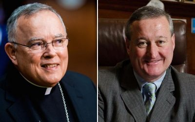 Archbishop Charles Chaput, Mayor Jim Kenney