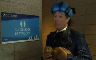 Stephen Colbert at the 2016 DNC