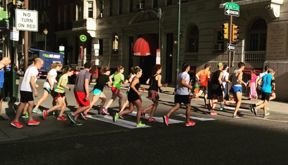 philly10k training run