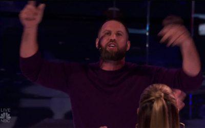 Jon Dorenbos on America's Got Talent