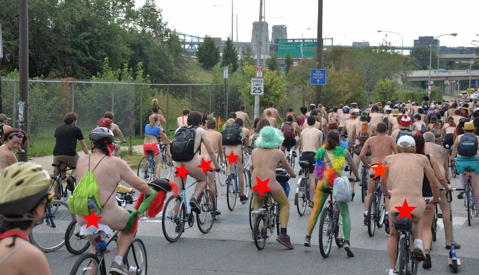 World Naked Bike Ride Cape Town 2012 | Cape Town
