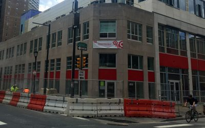Target store at 1900 Chestnut - under construction