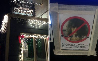 Billy Murphy's Irish Saloon and its No Bon Jovi jukebox policy