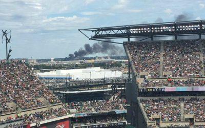 Camden Trash Fire