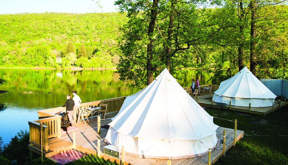 Fall Weekend Getaway Gl&ing at Shawnee Inn and Golf Resort in the Poconos u2013 Philadelphia Magazine & Fall Weekend Getaway: Glamping at Shawnee Inn and Golf Resort in ...