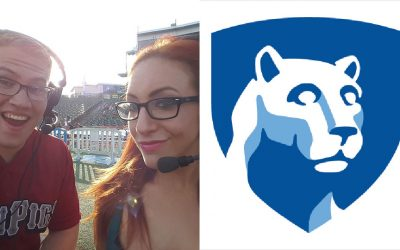 Ian Riccaboni / Penn State logo