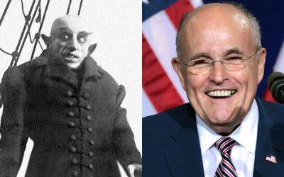 Max Schreck; Rudy Giuliani